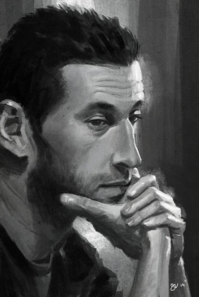Birthday portrat for my friend Davyd.